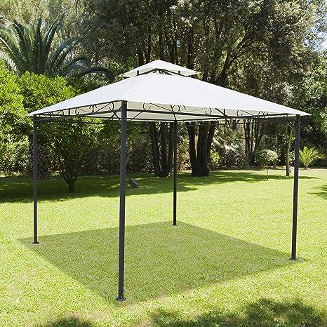 Papillon 8043315 Pergola Papillon 3,4x3,4 metros Sagres Con Cortinas: Amazon.es: Industria, empresas y ciencia