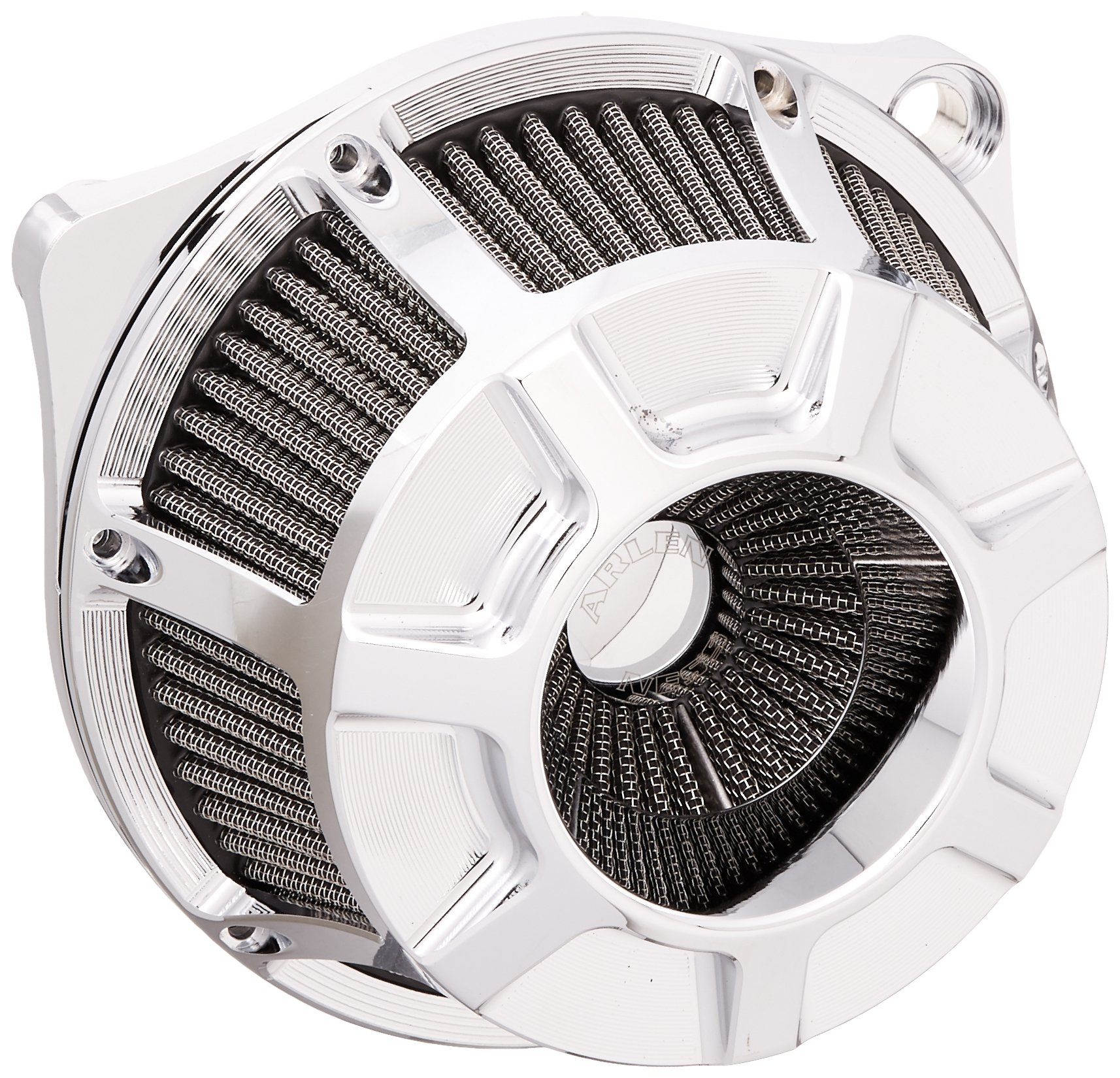 Arlen Ness 18-932 Chrome Inverted Series Air Cleaner Kit