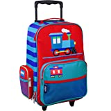 Wildkin Kids Rolling Suitcase for Boys & Girls, Suitcase for Kids Measures 16 x 11.5 x 6 Inches, Kids Luggage is Carry-On Siz