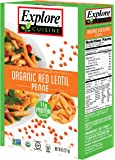 Explore Cuisine Pasta - Red Lentil Penne - Pack of 6 Boxes