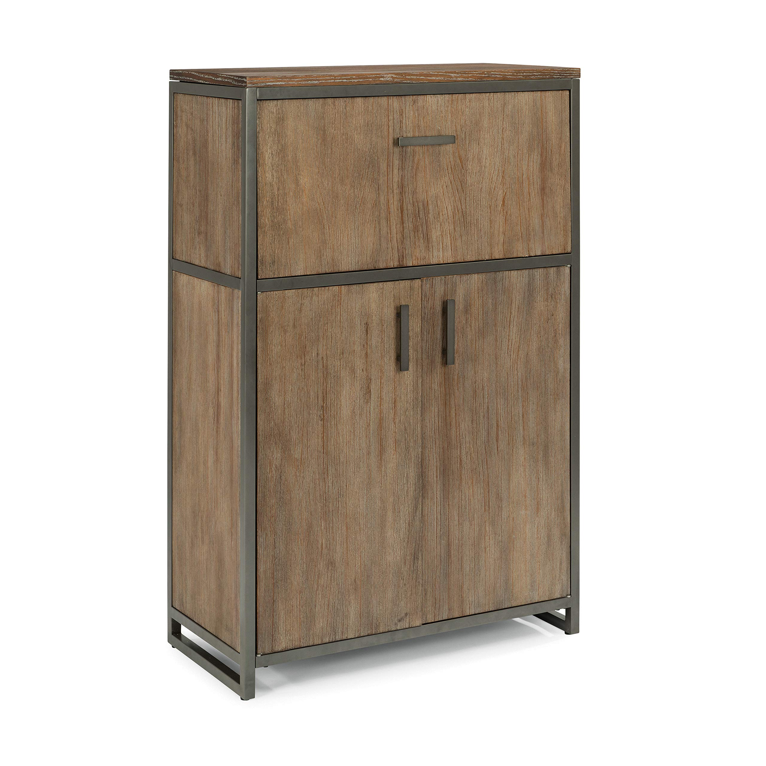 Barnside Metro Bar Cabinet in Multi-Tone Driftwood by Home Styles by Home Styles