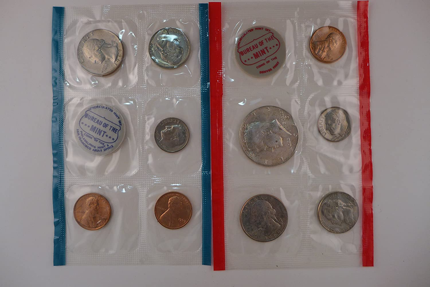 1969 United States Mint Uncirculated Coin Set