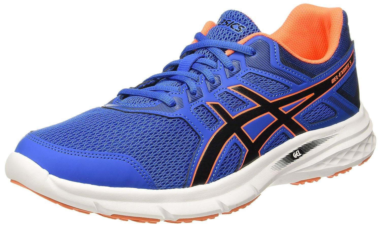 ASICS de Gel-Excite 5, Chaussures de ASICS Running Homme 43.5 EU|Multicolore (Victoria Blue Black Shocking Orange) b56ecf