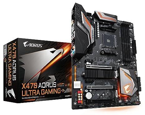 GIGABYTE X470 AORUS ULTRA GAMING (AMD Ryzen AM4/ X470/ USB 3 1 Gen 2 Front  Type C/ ATX/ DDR4/ Motherboard)