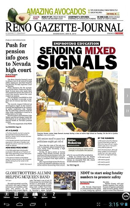 Reno Gazette-Journal Print Edition