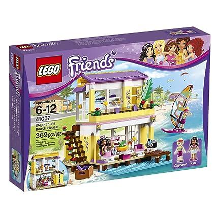 Amazoncom Lego Friends 41037 Stephanies Beach House 369 Pcs