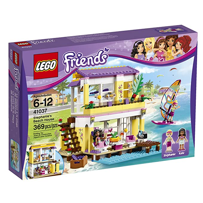 Lego Friends 41037 Stephanies Beach House 369 Pcs