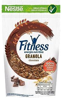 Fitness Cereales Granola Copos De Avena, Pepitas De Chocolate Y Trigo Malteado - 300 gr