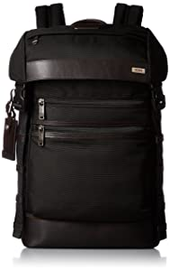 Tumi Alpha Bravo Kinser Flap Backpack, Hickory, One Size