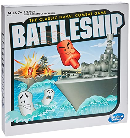 AmazonCom Battleship Game Toys  Games