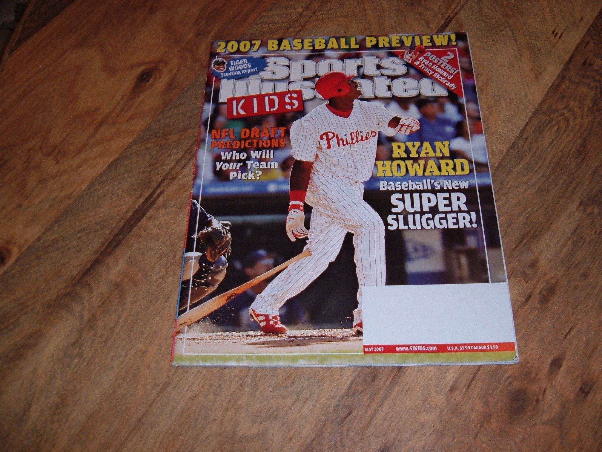 Philadelphia Phillies Sports Illustrated Cover Collection Poster