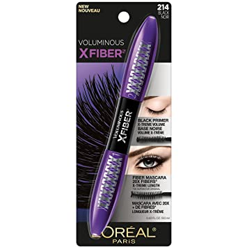 57d861222c7 Amazon.com : L'Oréal Paris Makeup Voluminous X Fiber Mascara with ...