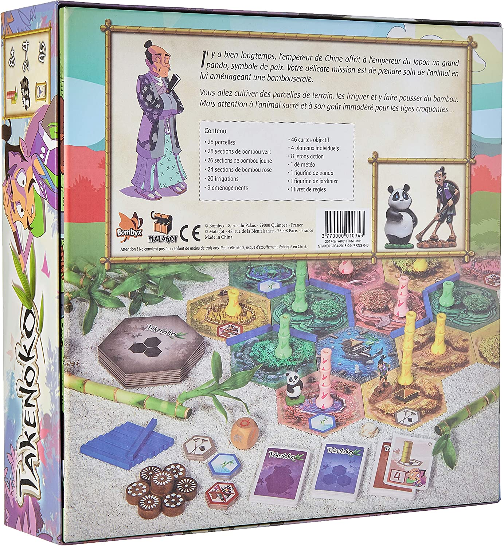 Asmodee – Juego de Estrategia - Takenoko: Amazon.es: Juguetes y juegos