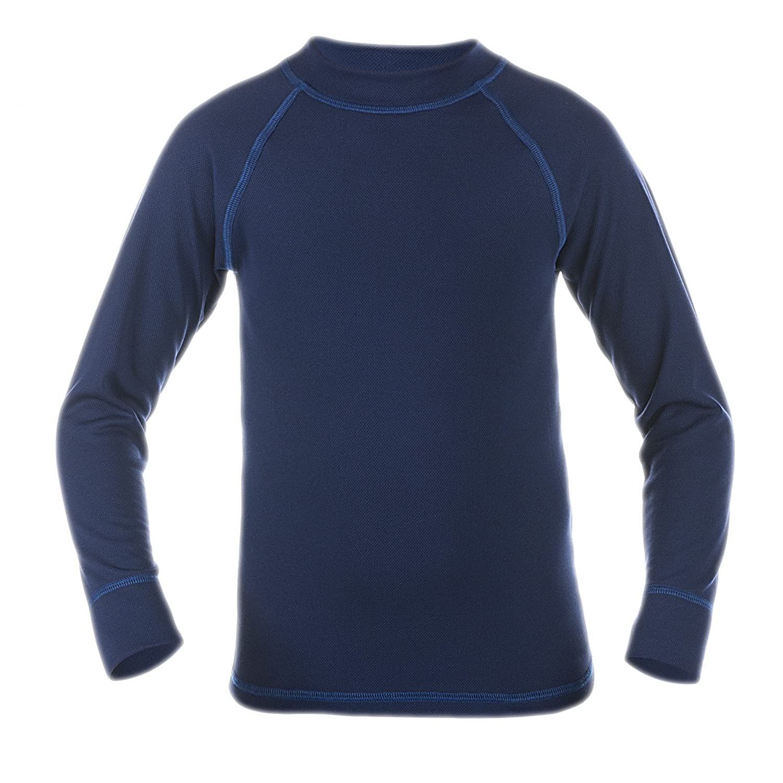 Langarm Thermo Shirt Funktionsunterhemd Kinder Ski Funktionsshirt Thermoactive Unterhemd Thermowäsche