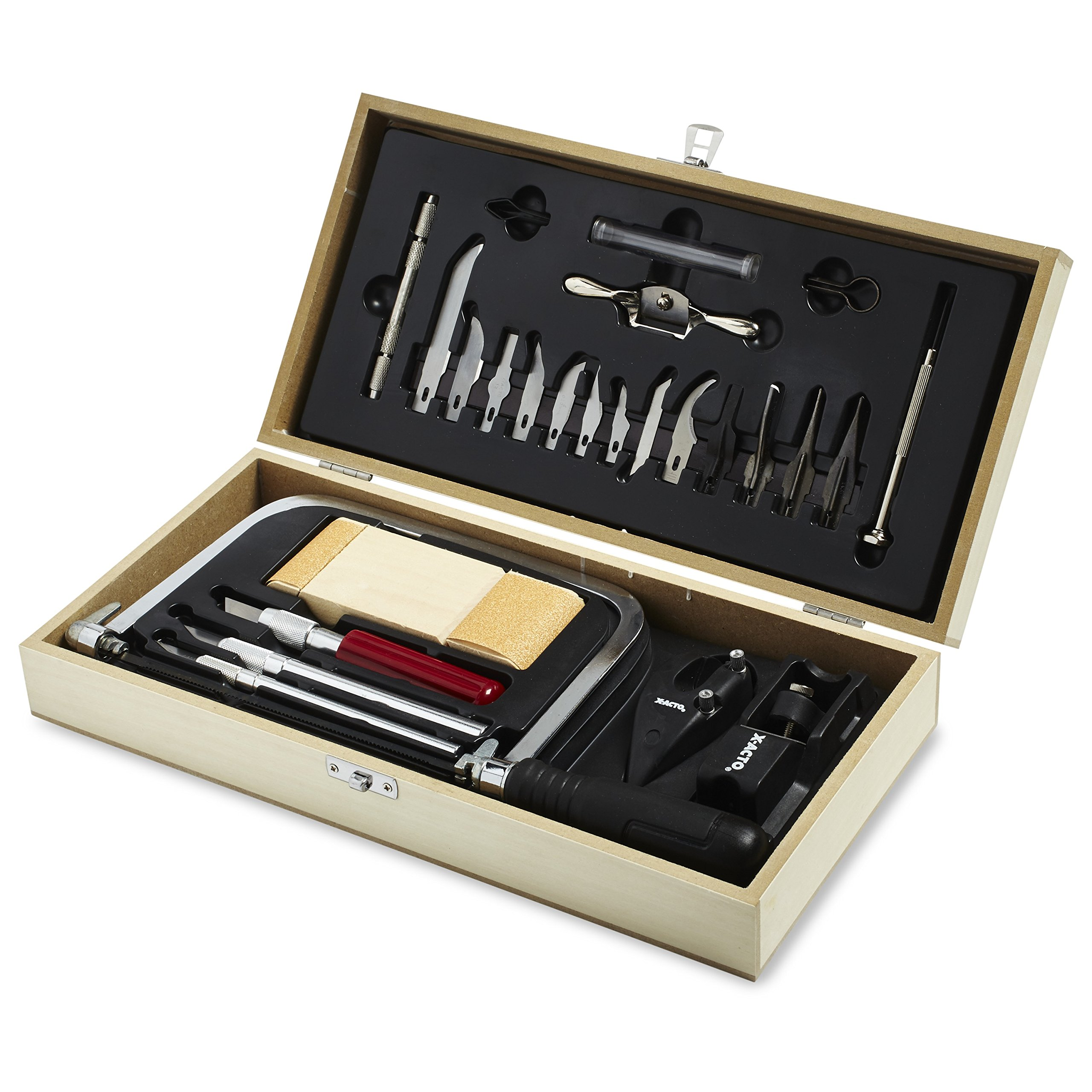 X-ACTO Hobbytool Set, Deluxe 30 Piece Set, Great for Arts and Crafts, including Pumpkin Carving