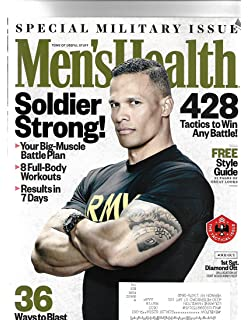 933058d1c26 Mens health magazine march 2018   Special Military Issue    Postal label On  Front