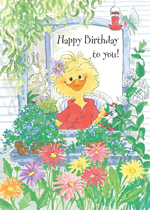 Amazon.com: Suzy Zoo del feliz cumpleaños tarjeta de ...