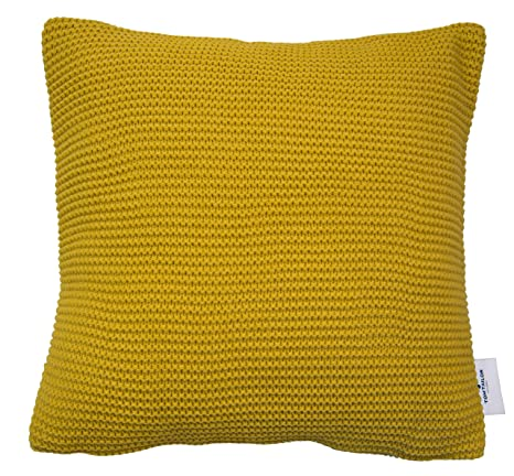 Tom Tailor T- Plain Knit - Funda de cojín (acrílico, 45 x 45 ...