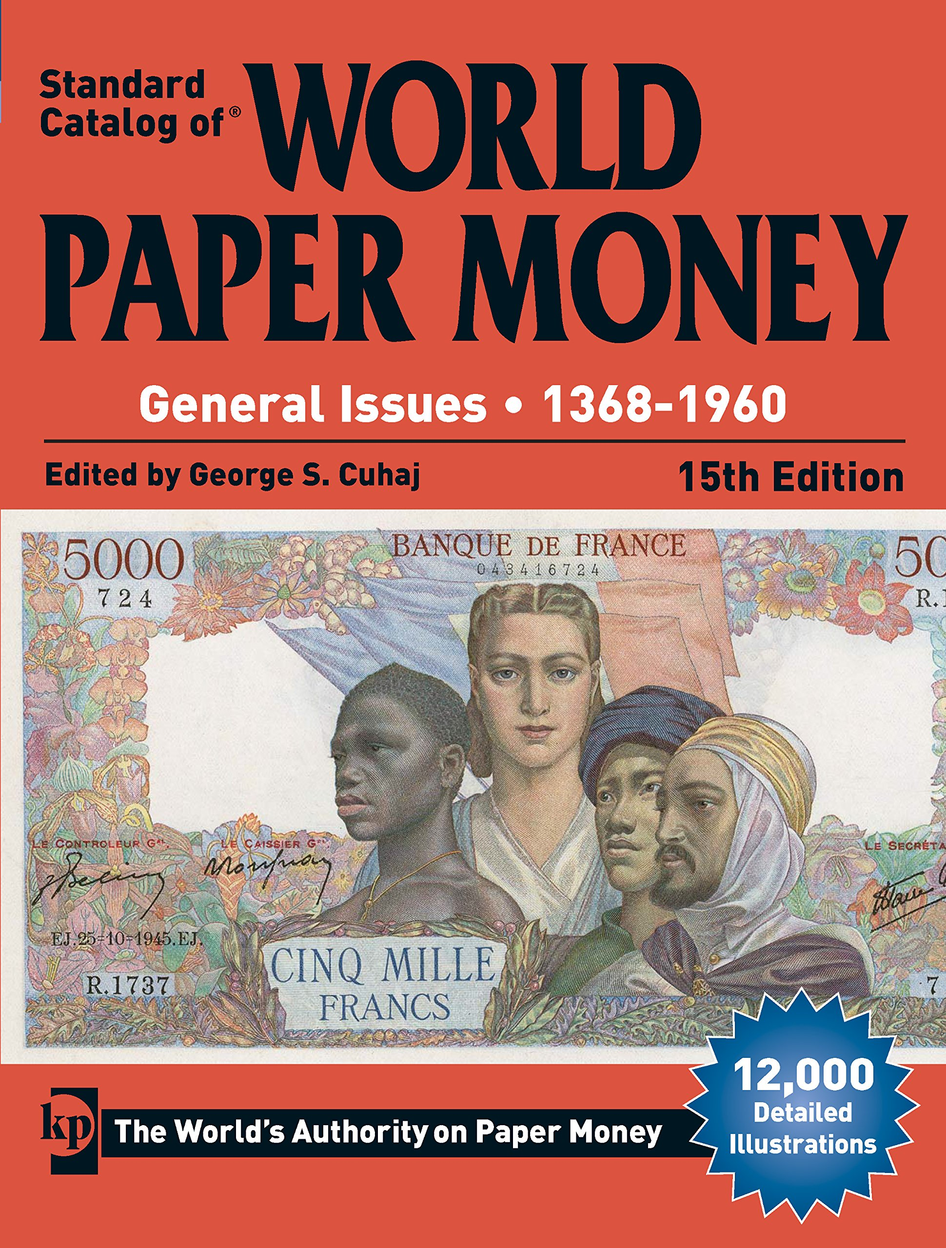 KRAUSE STANDARD CATALOG OF WORLD PAPER MONEY 1368-1960 15TH EDITION FREE SHIP!!