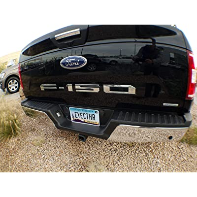 EyeCatcher Tailgate Insert Letters fits 2020-2020 Ford F150 (Chrome): Automotive