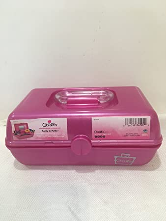 Amazon.com : Caboodles Pretty in Petite Small Hard Plastic Makeup Case Holder : Beauty