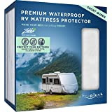 UltraPlush Premium Waterproof Mattress Protector, Luxurious, Soft & Comfortable, Protects Against Dust Mites and…