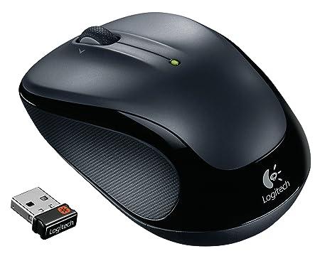 Logitech M325 optische Maus schnurlos dunkelsilber