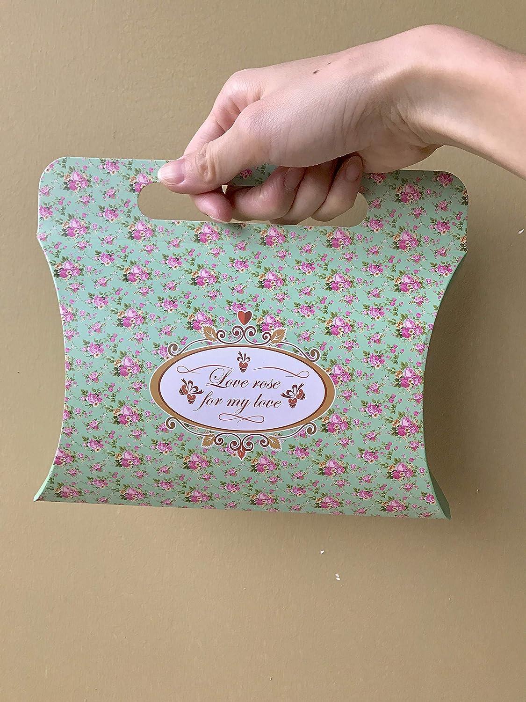 Vintage Blue Floral WallyE Paper Napkins for Bridal Shower Tea Party Birthday or Wedding 20 Pack