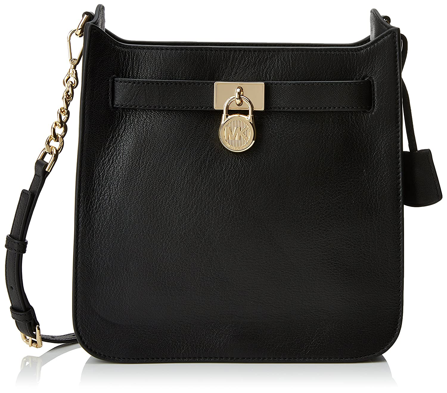 e66bf3cae7871 Michael Kors 30T7GHMM2L Womens Hamilton Cross-Body Bag Black (Black)   Amazon.co.uk  Shoes   Bags