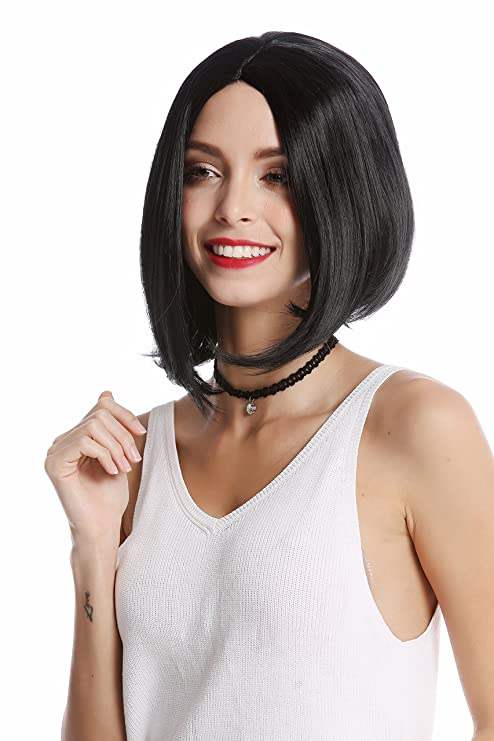WIG ME UP ® - YZF-4370-1 Peluca mujer corta mediana larga lisa