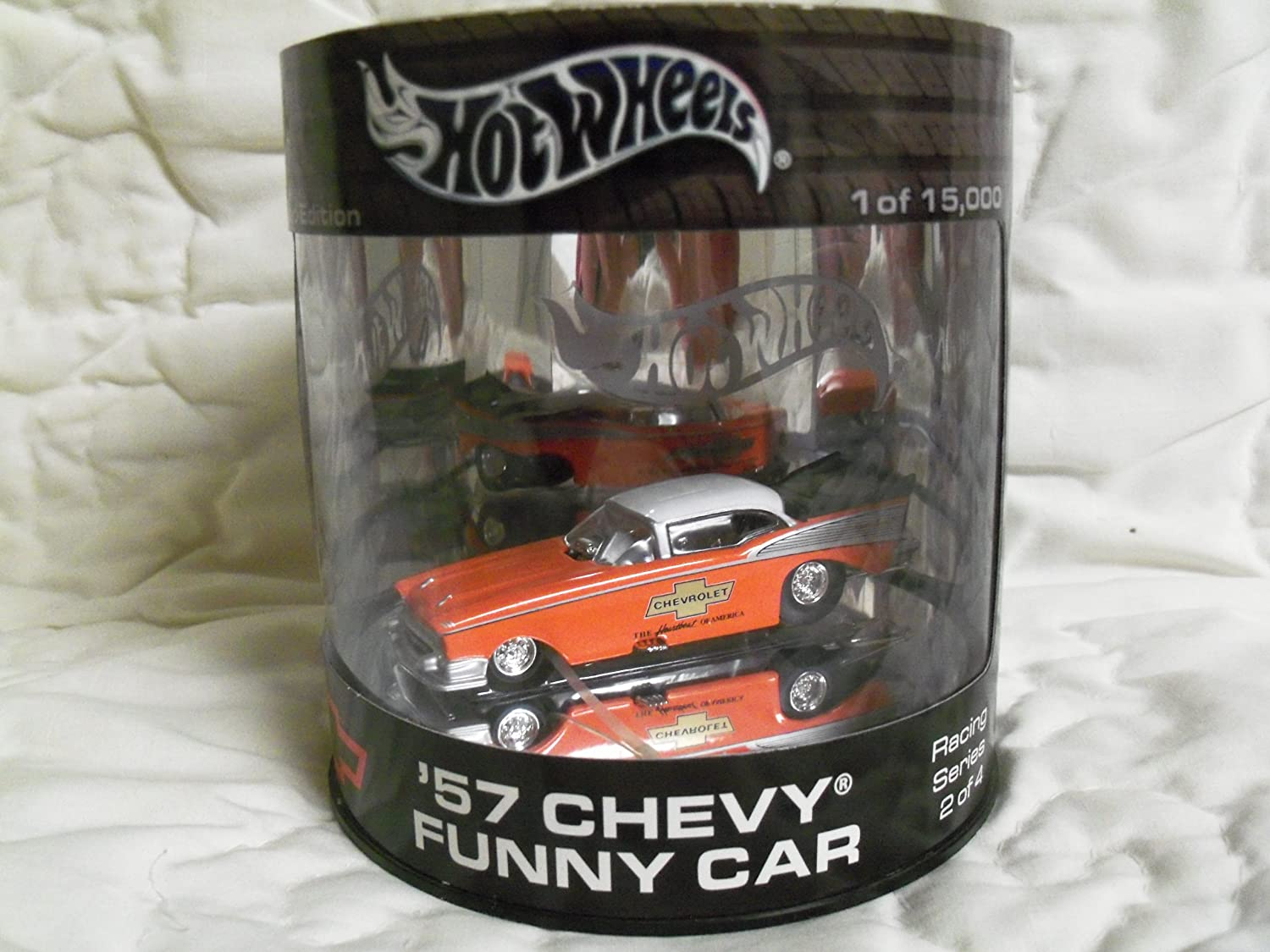 Hot Wheels '57 Chevy Funny Car Limited Edition 1 of 15,000 by mattel