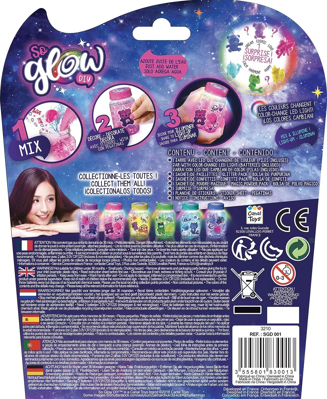 assortiti So Glow DIY Sgd 001/mini Magic barattolo