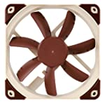 Noctua NF-S12A PWM, Premium Quiet Fan, 4-Pin (120mm, Brown)