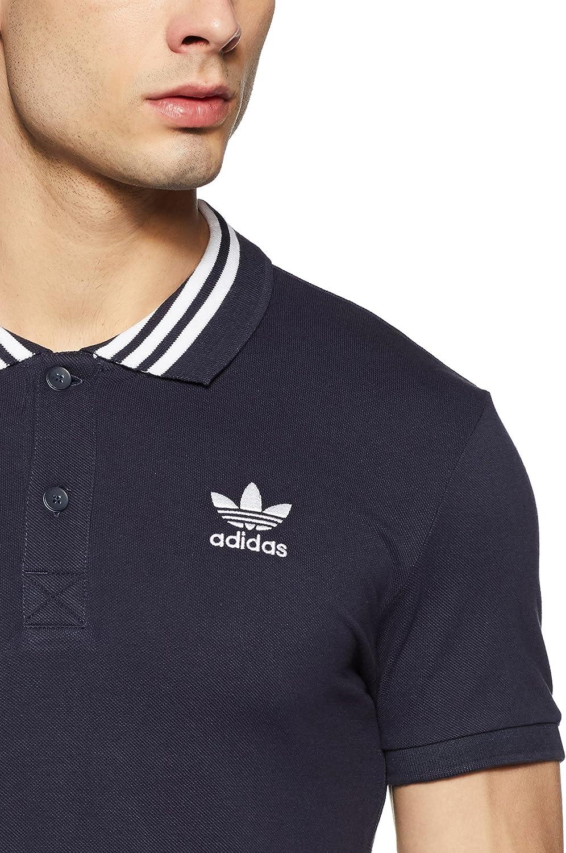 adidas Originals - Polo - para Hombre Azul Marino S: Amazon.es ...