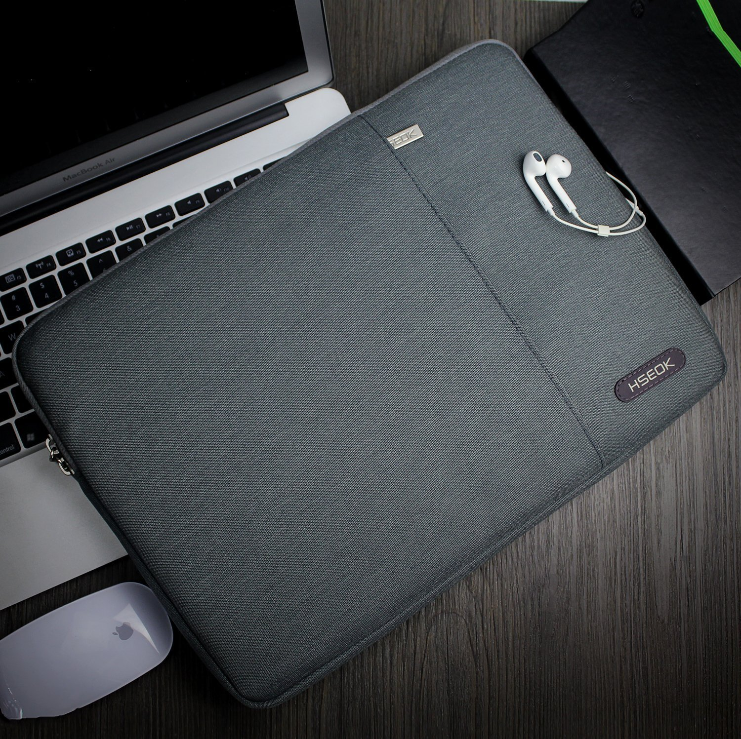 Surface Book2 Environmental-Friendly Spill-Resistant Laptop Sleeve for 11.6-Inch MacBook Air A1534 HSEOK 11.6-12.9 Inch Laptop Sleeve Case Black iPad Pro 12.9-Inch ThinkPad 11.6-Inch
