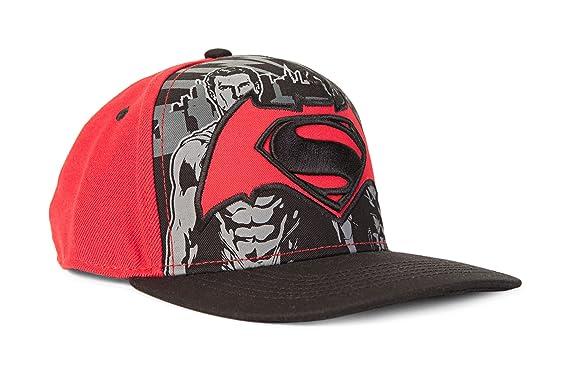 check out df3f3 6331f ... top quality dc comics batman vs. superman sublimated embroidered logo snapback  baseball cap 70947 d653d
