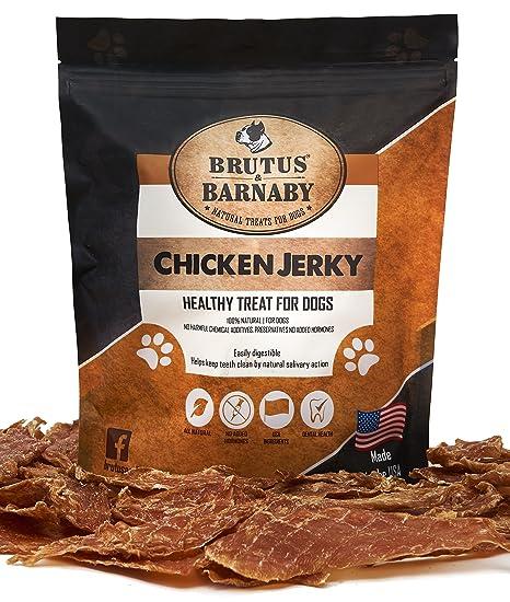 Amazon Brutus Barnaby Chicken Jerky Dog Treats Dehydrated