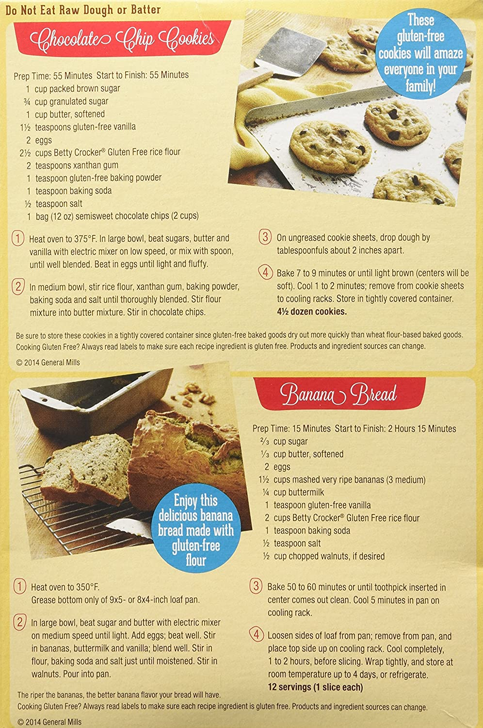 Amazon.com : Betty Crocker, Rice Flour Blend, Gluten Free, All ...