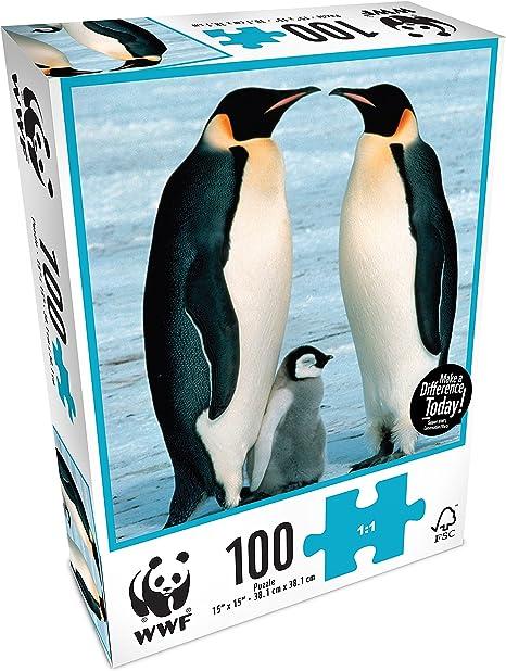 WWF - Pingüinos, Puzzle de 100 Piezas (Neo WWF104): Amazon.es: Juguetes y juegos