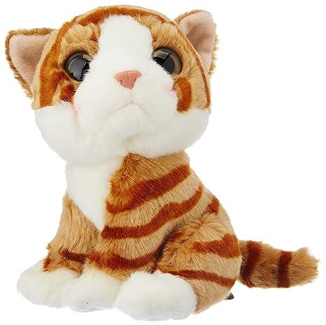Wild Watcher - Peluche Gato, Naranja, Tigre, ...