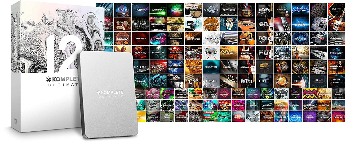 Native Instruments Komplete 12 Ultimate Collector's Edition Upgrade From  Komplete 8-11