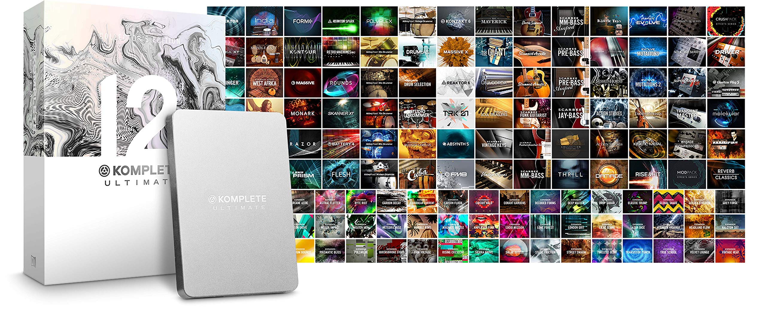 Native Instruments Komplete 12 Ultimate Collector's Edition Upgrade From Komplete Ultimate 8-11