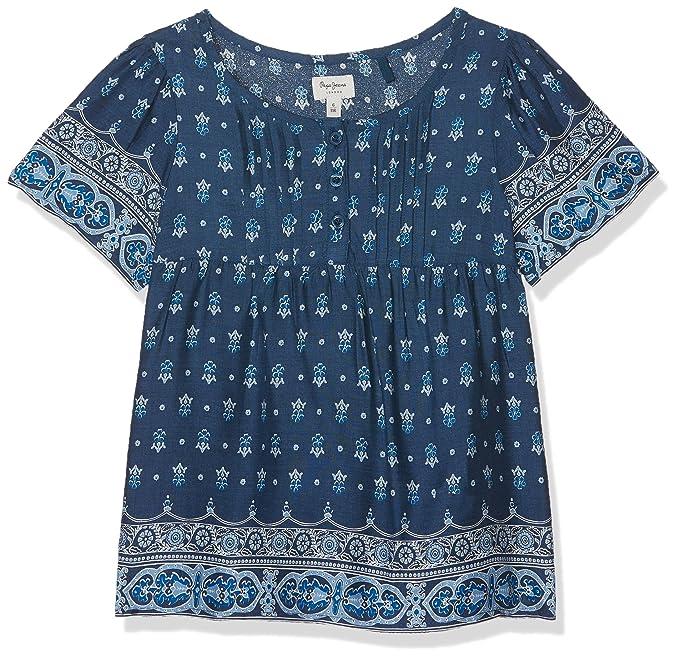 Pepe Jeans Katherine JR PG300812, Blusa para Niñas, Azul (Ocean 588),