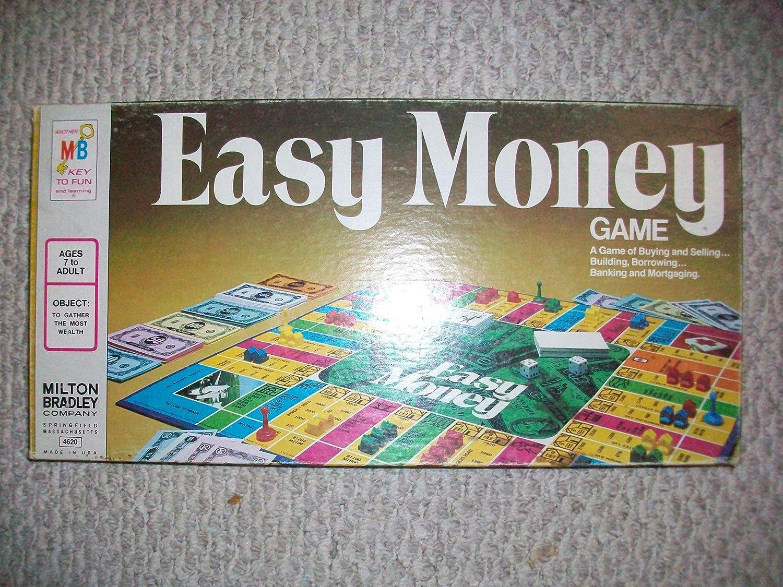 Amazoncom Easy Money Board Game Toys