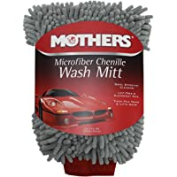 MOTHERS 968801 Mothers Premium Chenille Car Wash Mitt - Scratch & Lint Free