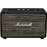 Marshall Acton Bluetooth Lautsprecher (Bluetooth 4.0, 3,5 mm Klinke, 50 Watt) schwarz
