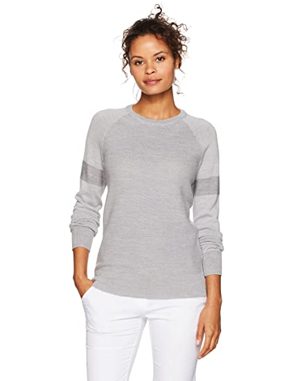 Amazoncom Under Armour Womens Ws Panelled Crewneck Sweater Sports