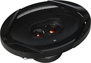"JBL GX963 300W 6"" X 9"" 3-Way GX Series Coaxial Car Loudspeakers (Pair of 2, 600W Total),black"