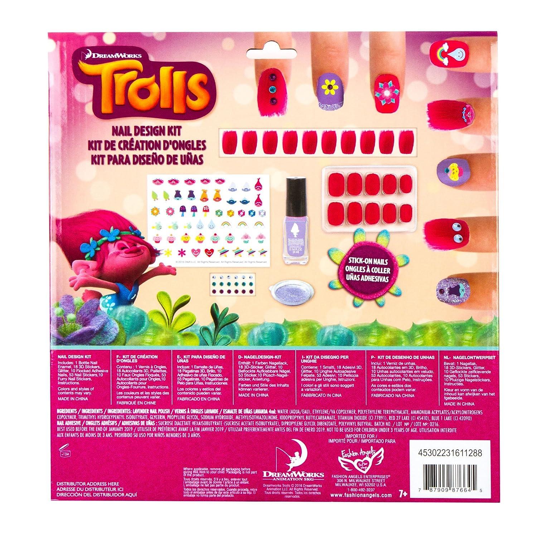 Amazon.com: Trolls Nail Design Kit: Toys & Games