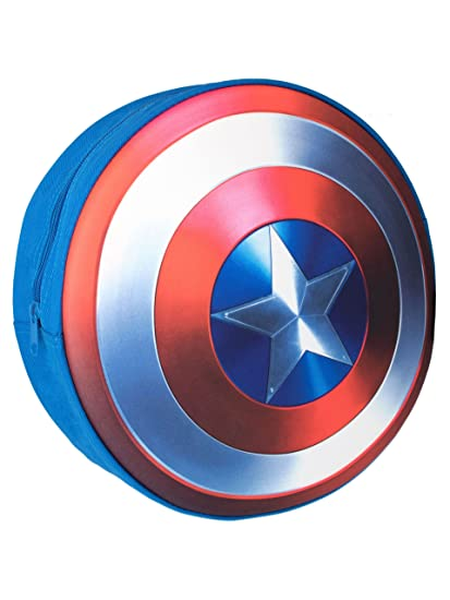 f29b76a58f9b Image Unavailable. Image not available for. Color  Marvel Boys Captain  America Shield Backpack